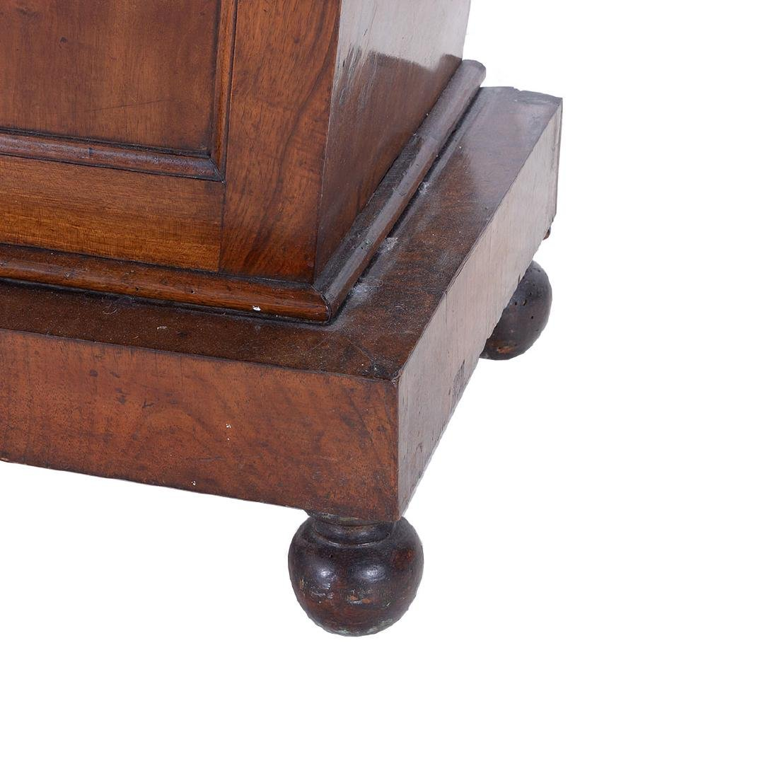 Regency Mahogany Sarcophagus Form Chest, First Quarter - 4