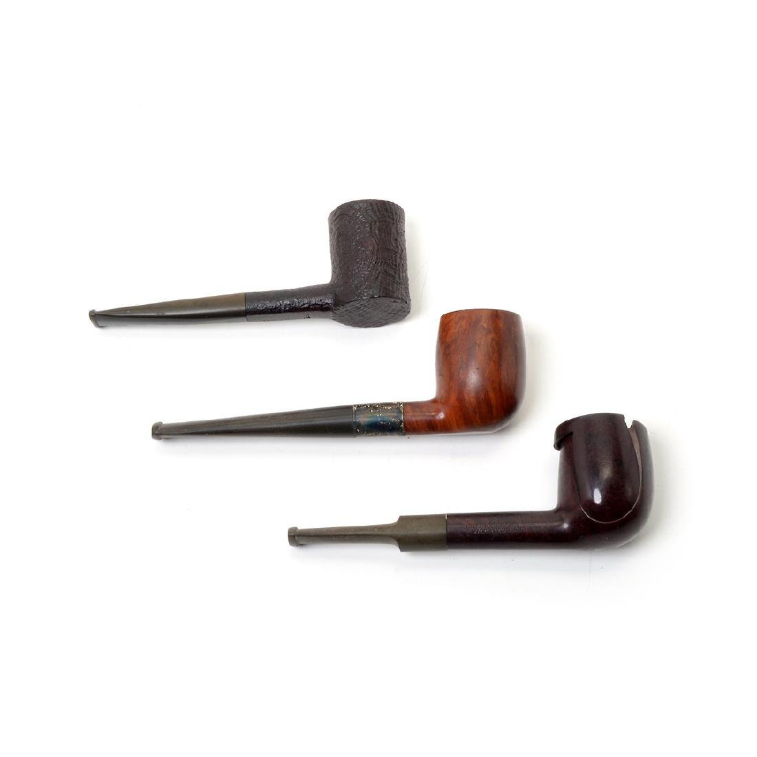 Tobacco Boxes,Pipes,Sterling Mounted Peterson, - 3