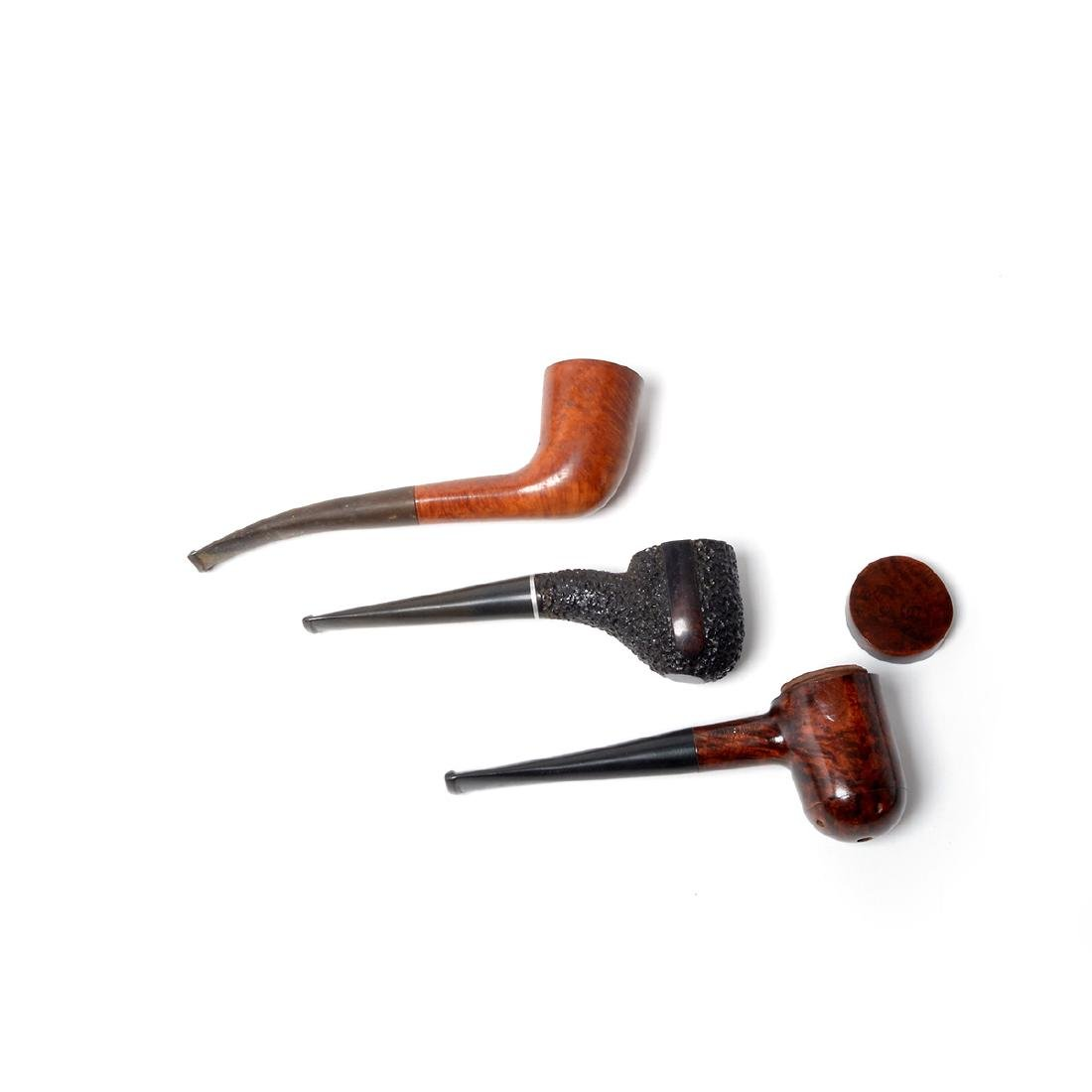 Tobacco Boxes,Pipes,Sterling Mounted Peterson, - 4