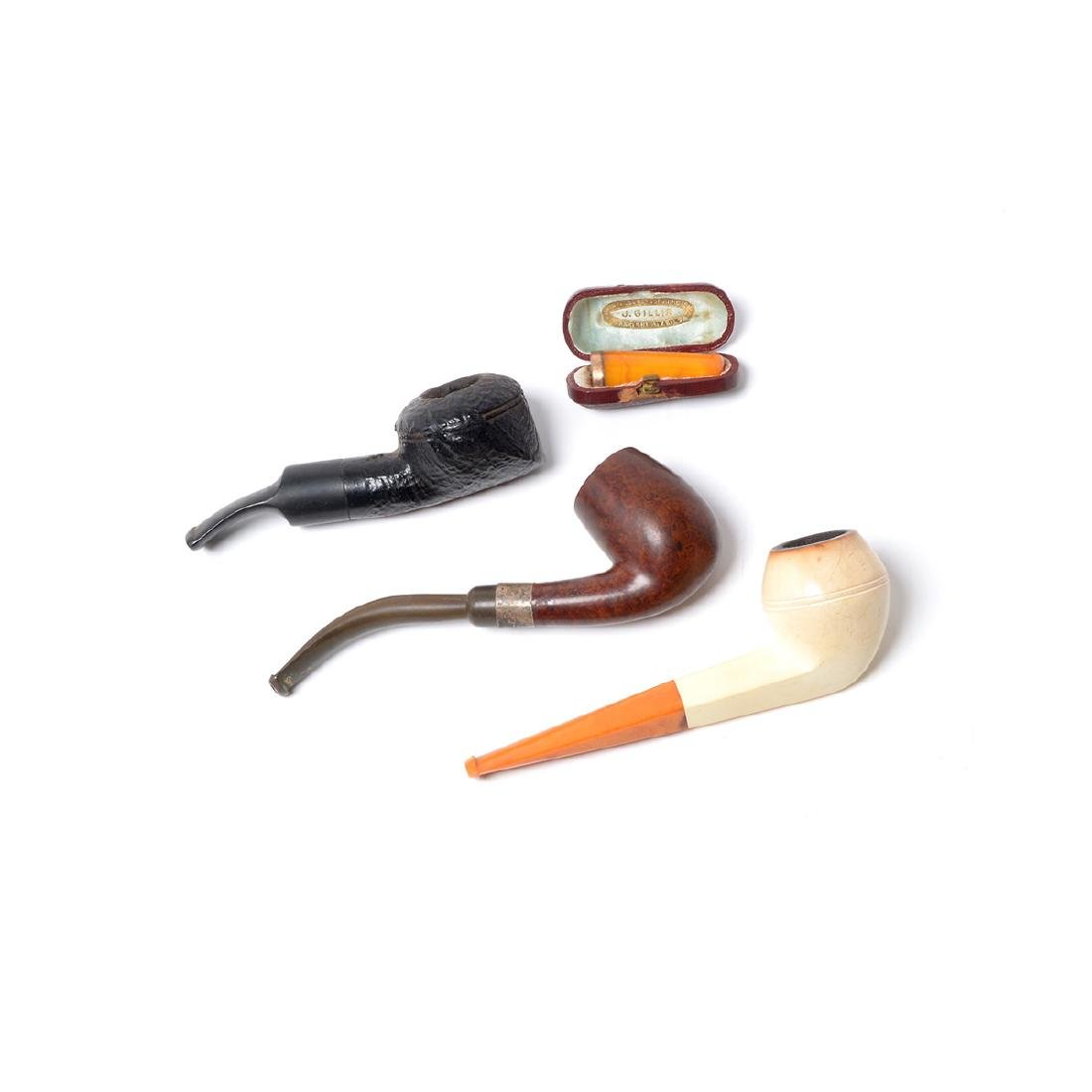 Tobacco Boxes,Pipes,Sterling Mounted Peterson, - 7