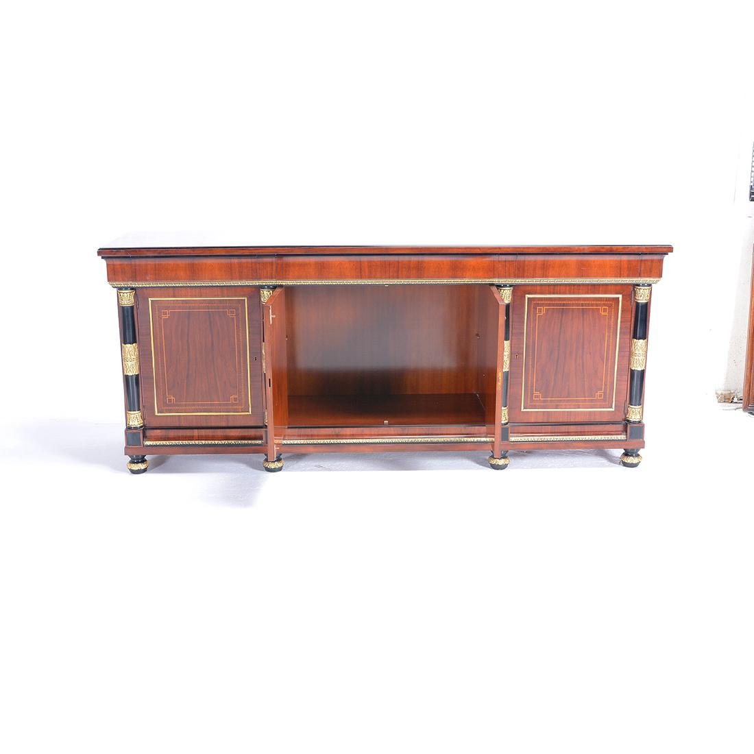 Louis XVI Style Spanish Made Mahogany Sideboard with - 4