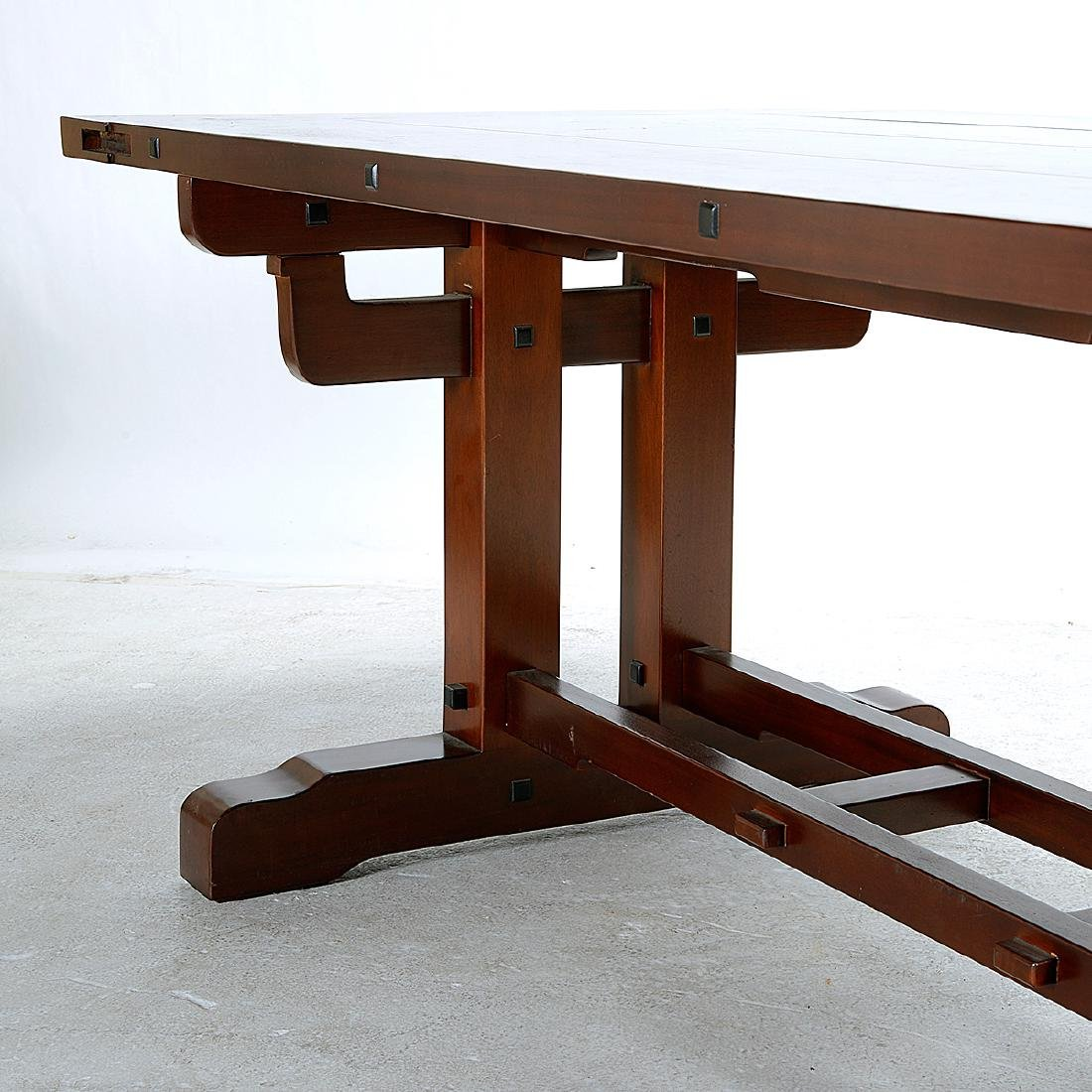 Stickley Style Refectory Table - 4