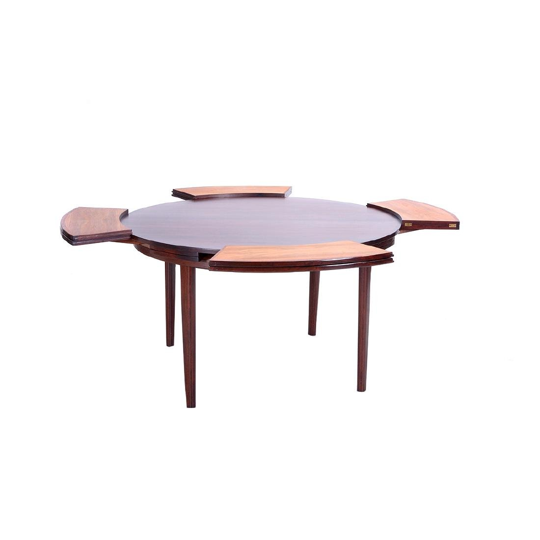 Dyrlund Rosewood Extension Dining Table - 3