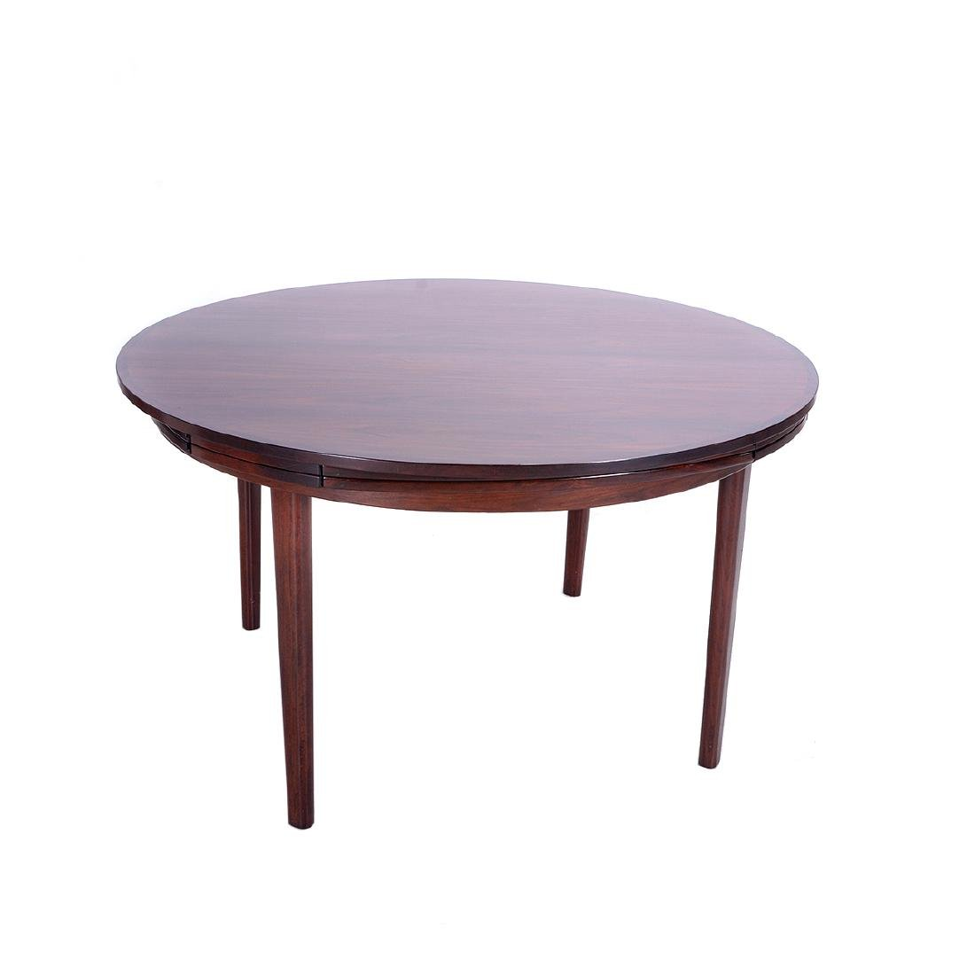 Dyrlund Rosewood Extension Dining Table - 4