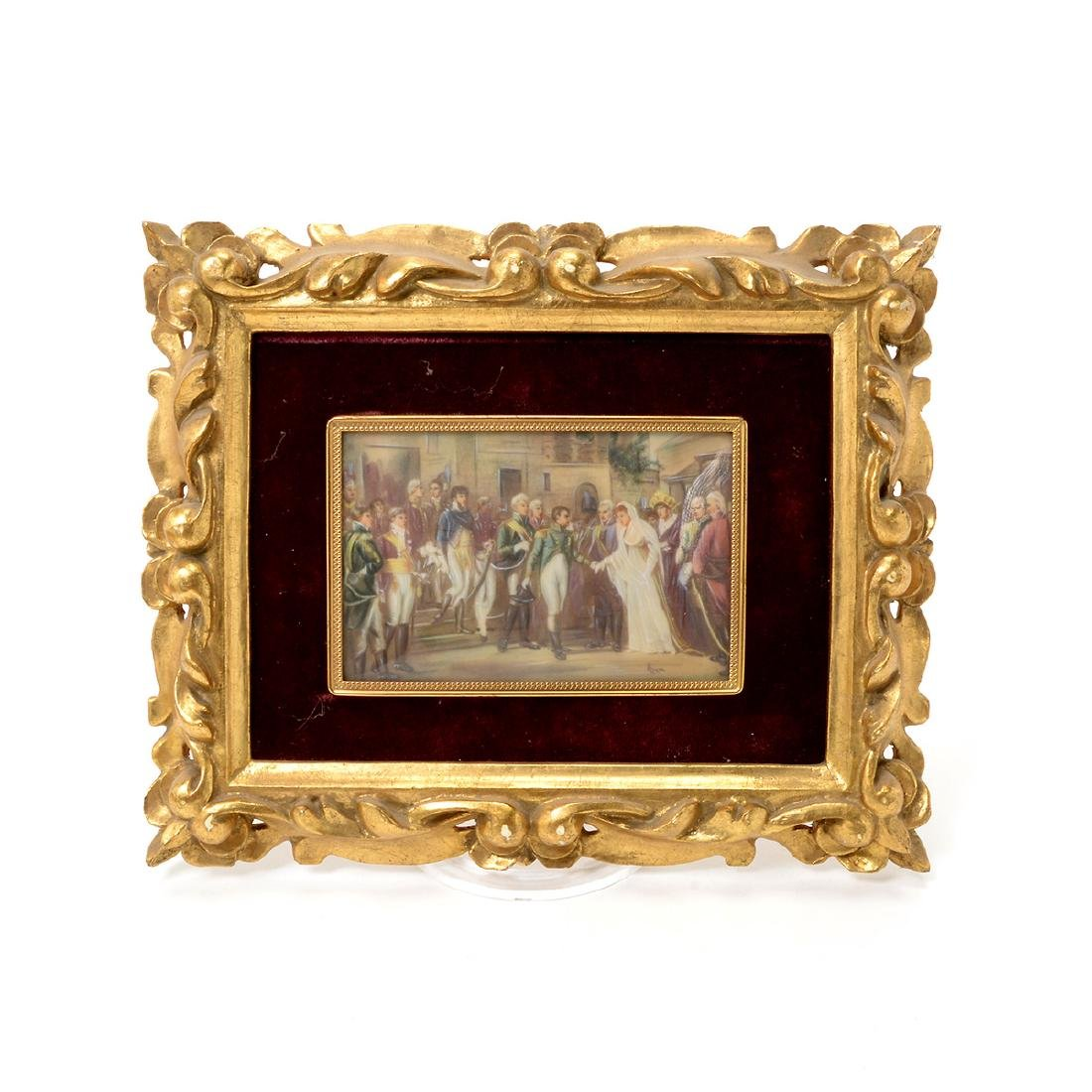 Eight Miniature Paintings and Portraits of European - 2