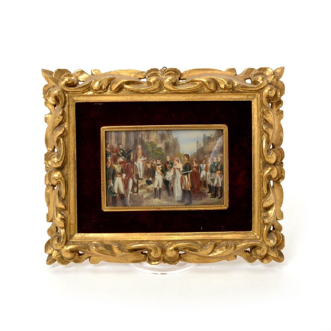 Eight Miniature Paintings and Portraits of European - 4