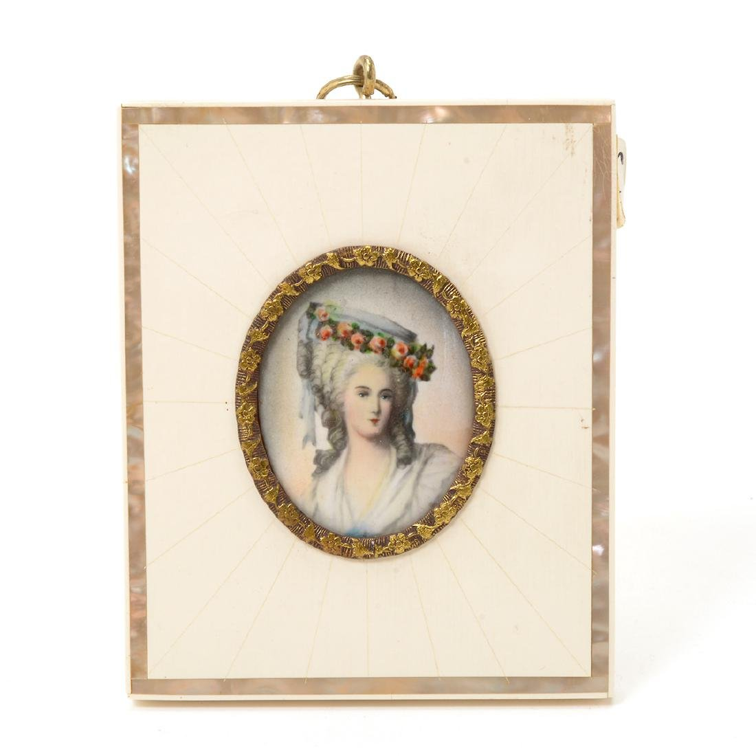 Eight Miniature Paintings and Portraits of European - 9