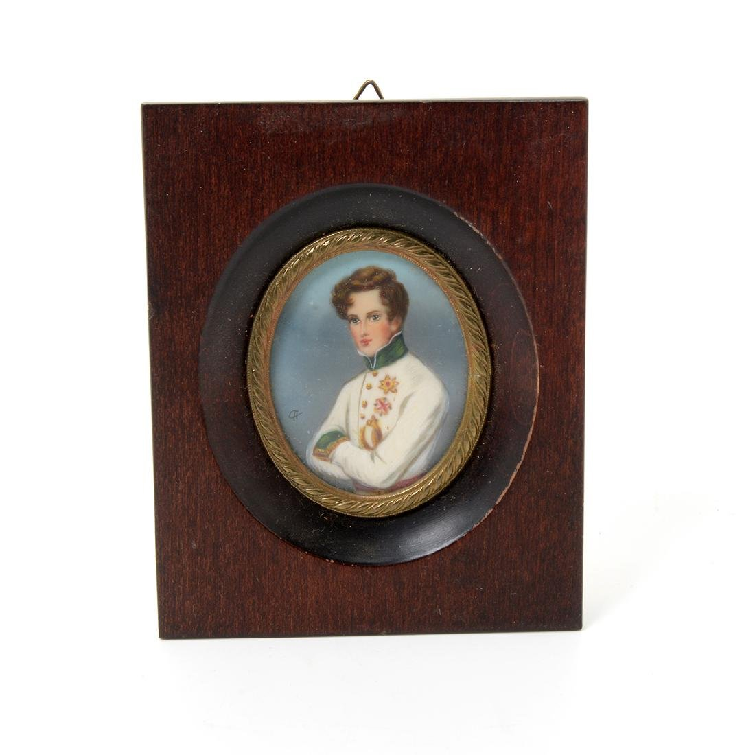Nine Miniature Portraits of Men Including Blue Boy - 6