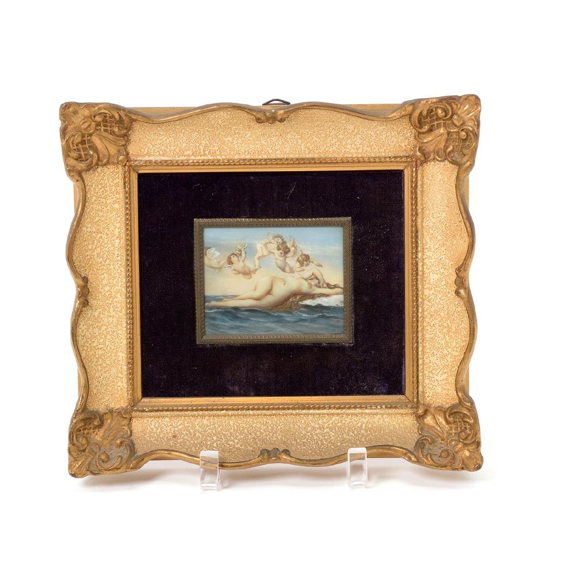 Eight Miniature Paintings Including Famous Artworks - 3