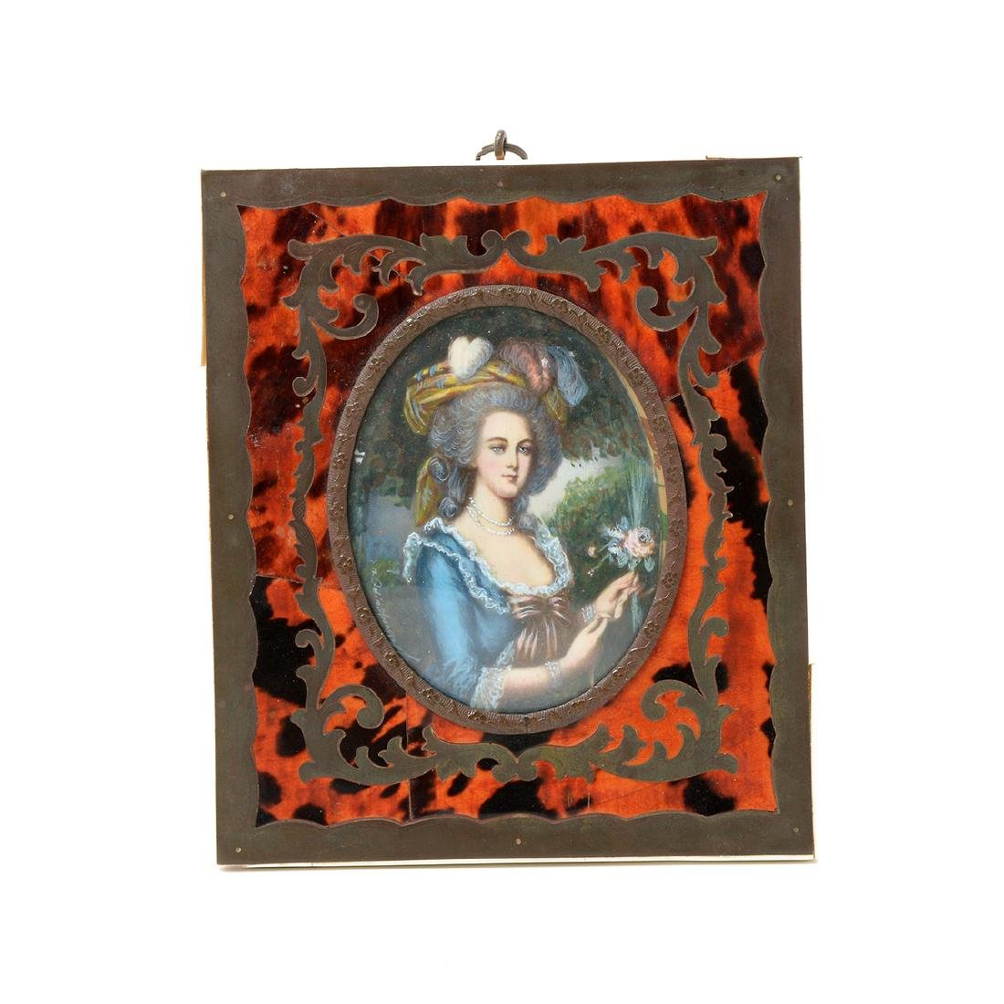 Eight Miniature Paintings Including Famous Artworks - 7