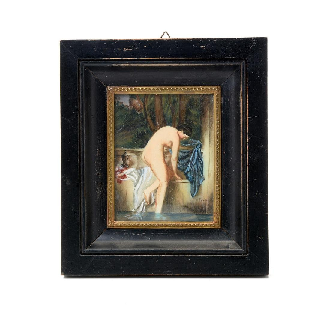 Eight Miniature Paintings Including Famous Artworks - 8