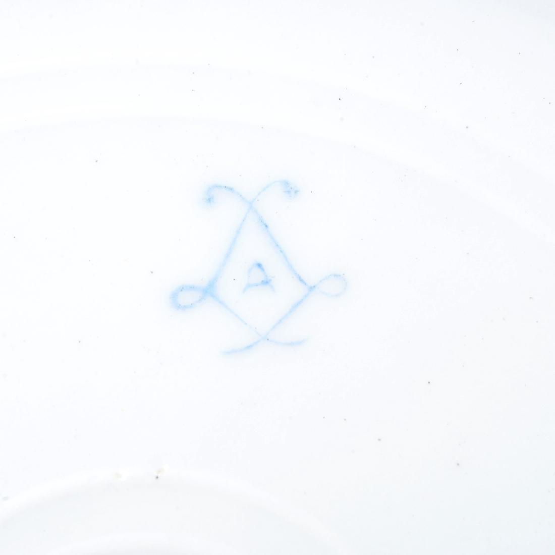 Set of Twelve Sevres Style Porcelain Cabinet Plates, - 9