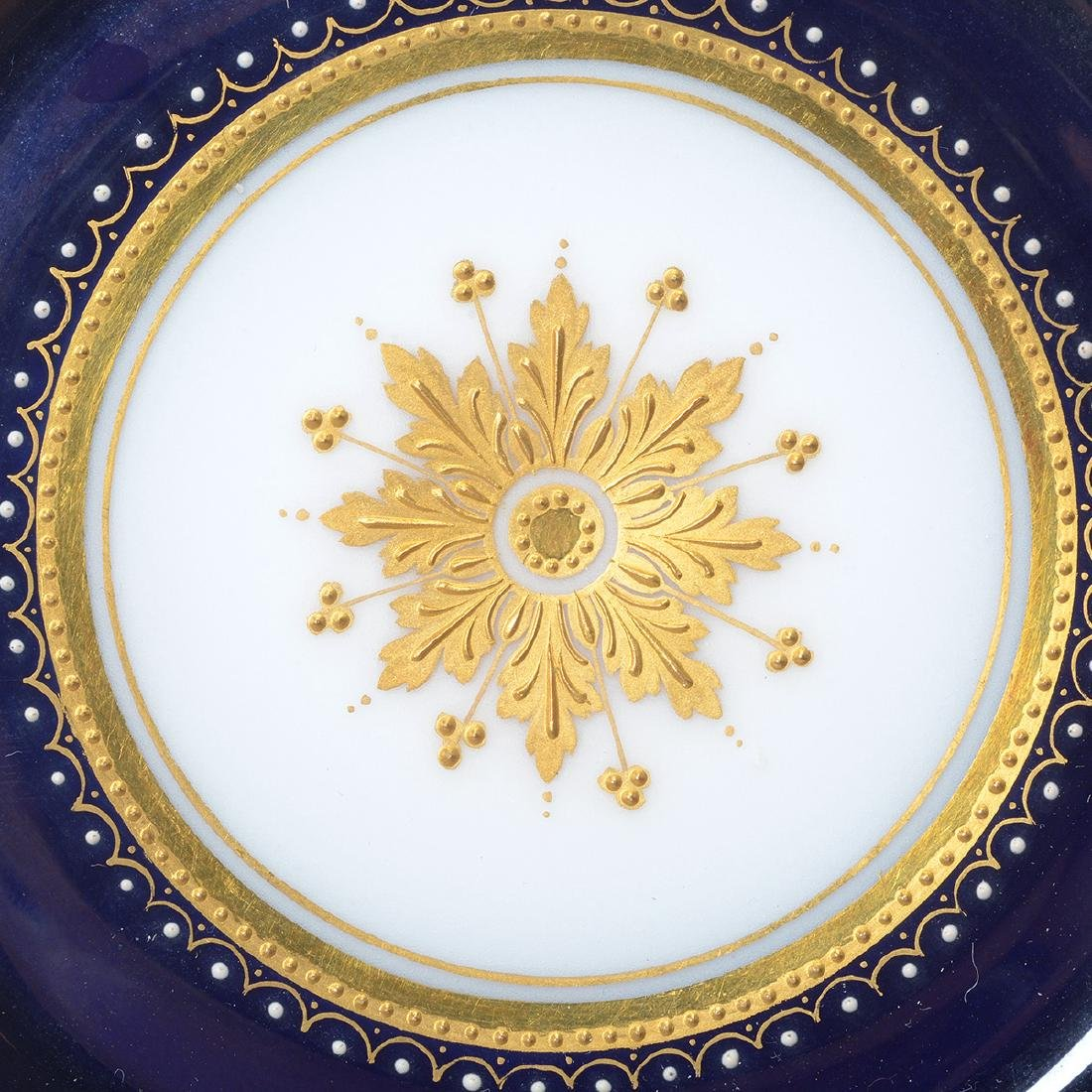 Royal Vienna Style Porcelain Plate with Cup and Saucer - 7