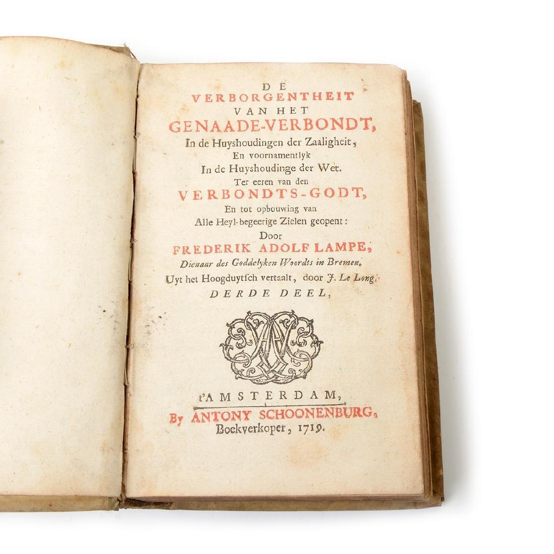 Six Books in Latin, German, French and Italian - 10