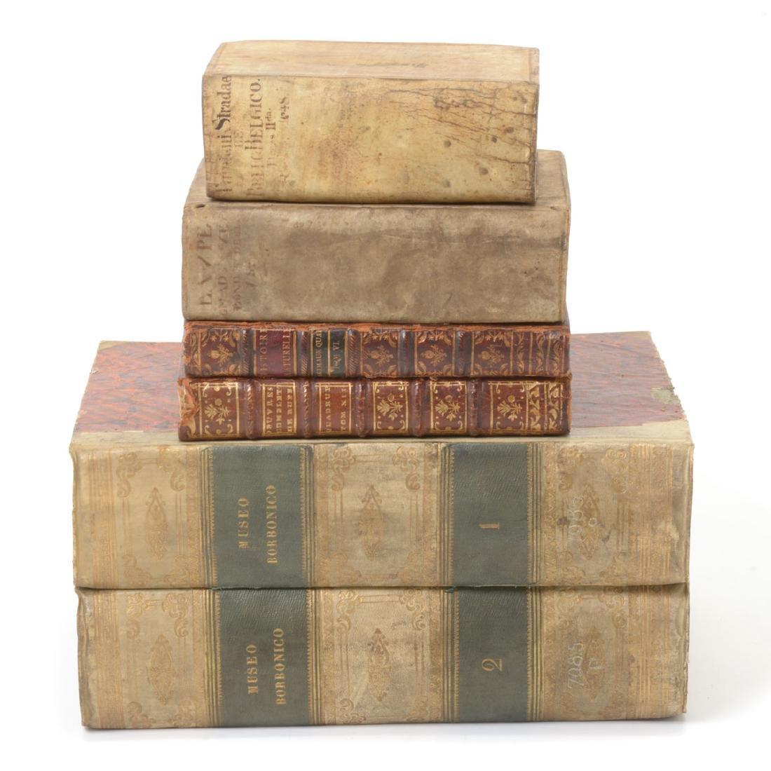 Six Books in Latin, German, French and Italian