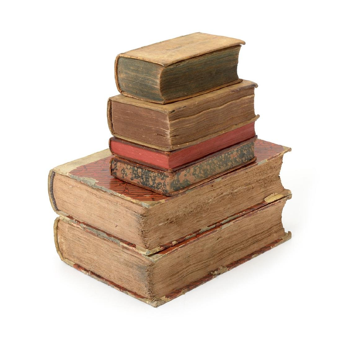 Six Books in Latin, German, French and Italian - 2