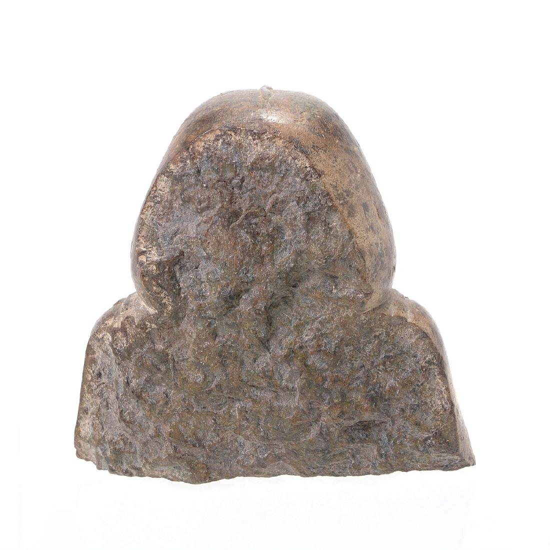 Egyptian Stone Carved Bust of Pharaoh - 3