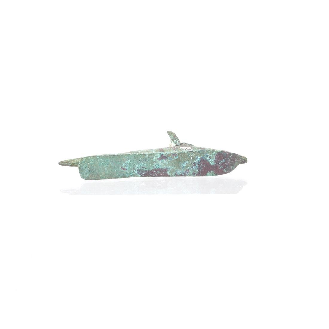 Egyptian Bronze Oxyrhynchus Fish Altarpiece - 5
