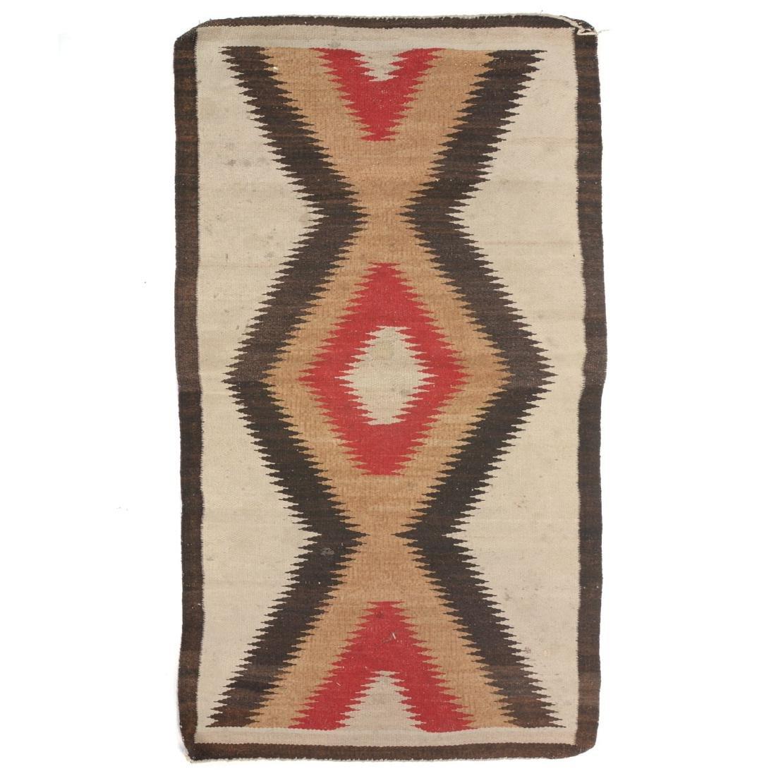 Navajo Dazzler Rug with ZigZag Design