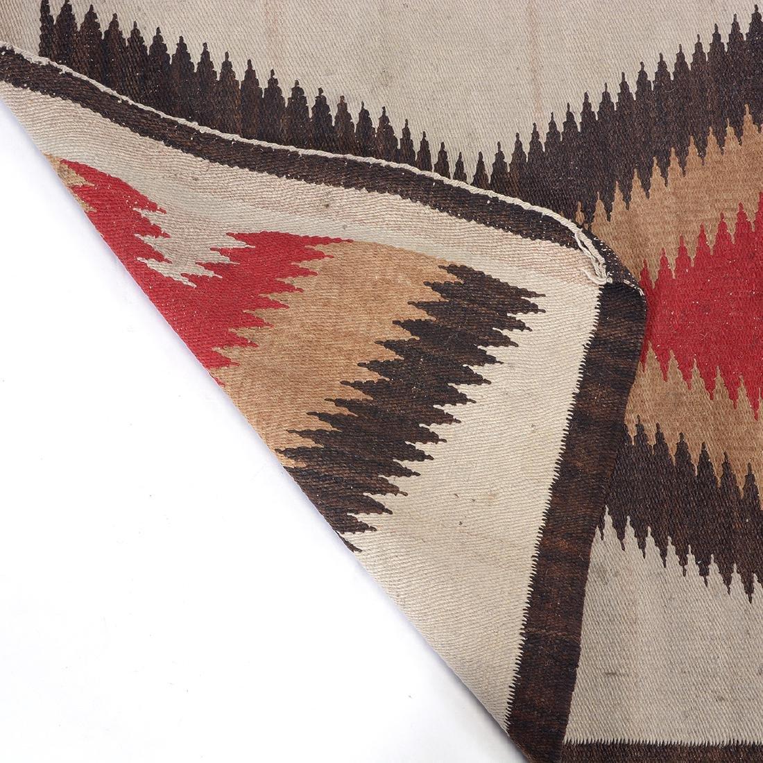 Navajo Dazzler Rug with ZigZag Design - 3