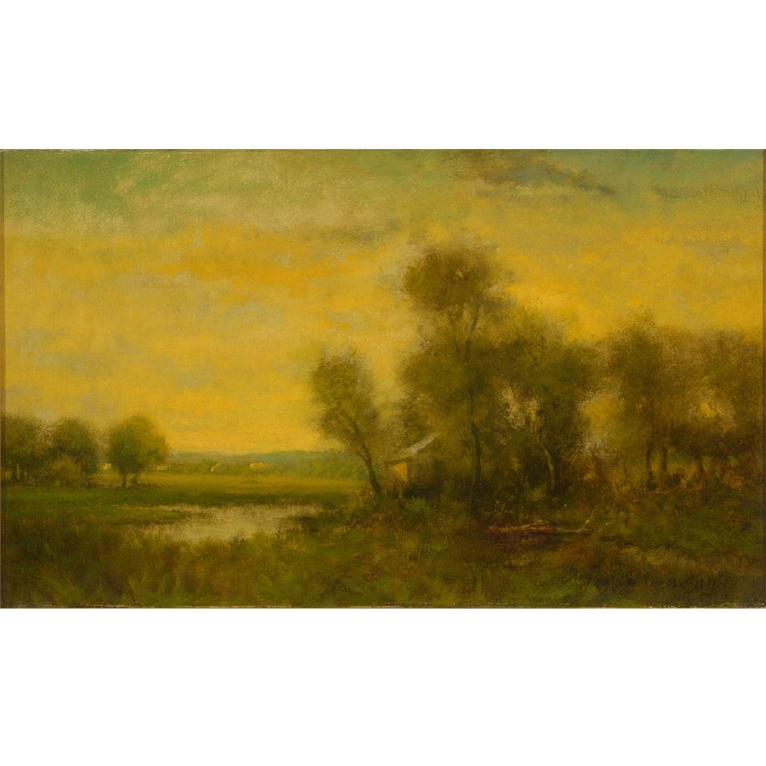 "Circle of George Inness ""In the Connecticut Valley"""