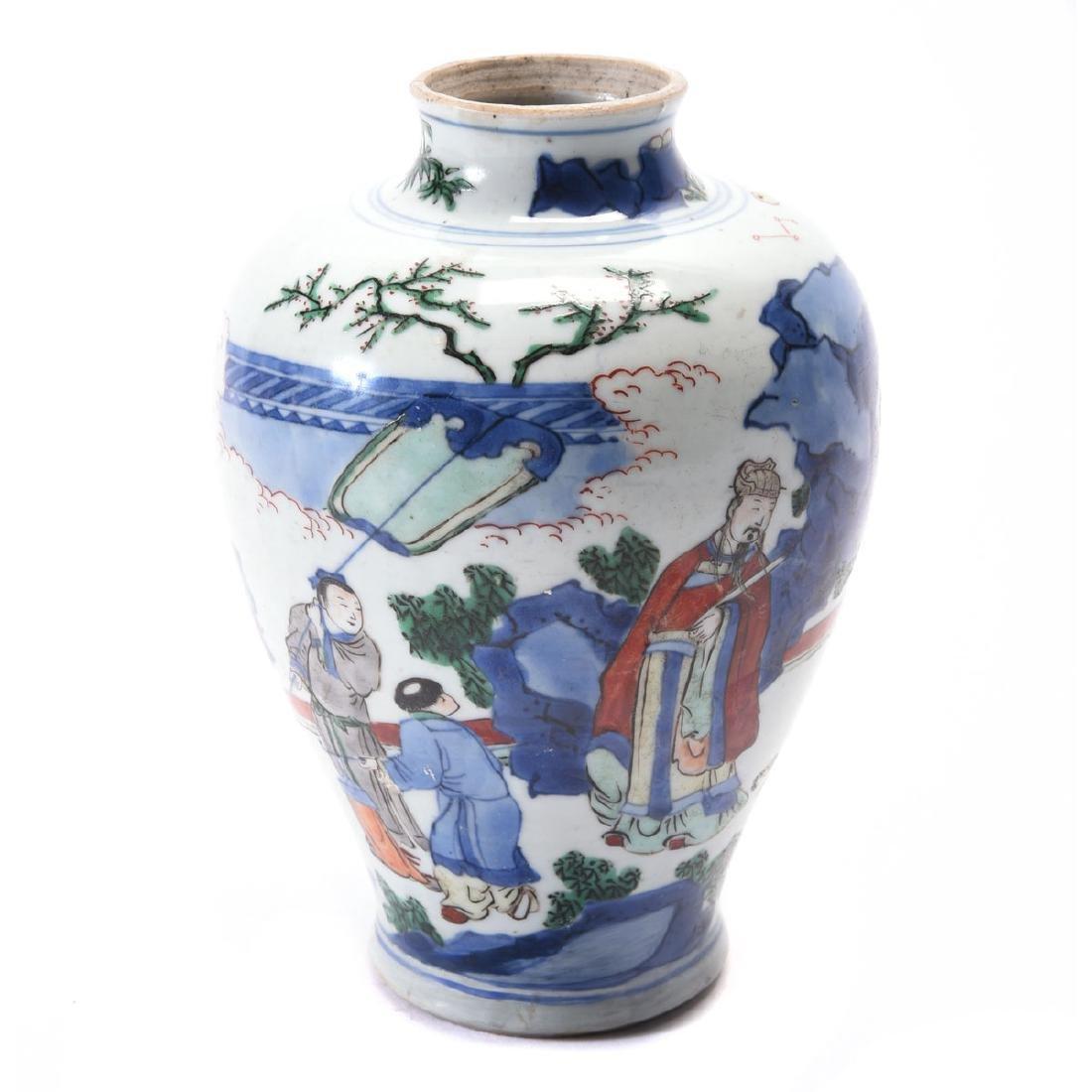 Chinese Porcelain Vase, Kangxi Period