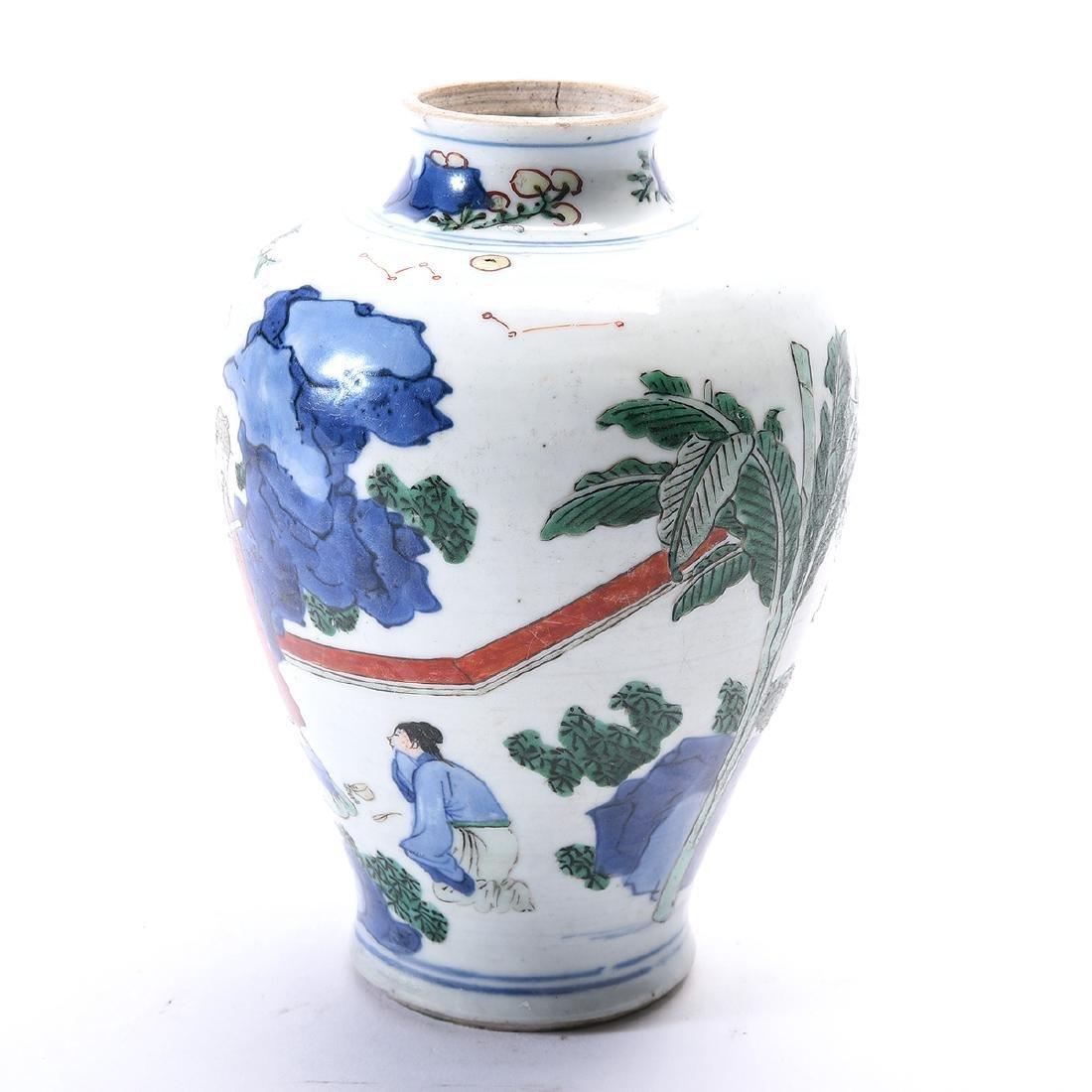 Chinese Porcelain Vase, Kangxi Period - 2