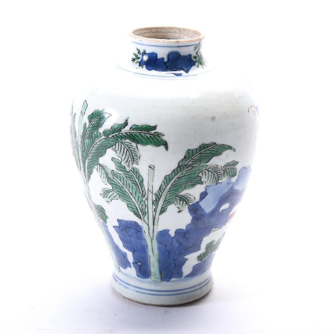 Chinese Porcelain Vase, Kangxi Period - 3