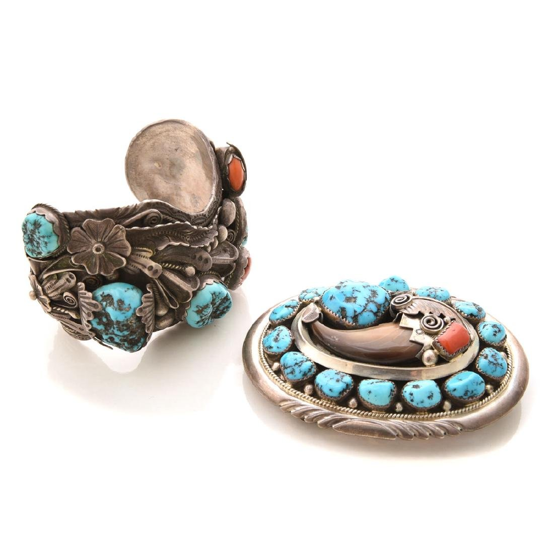*Native American Multi-Stone, Sterling Silver Jewelry