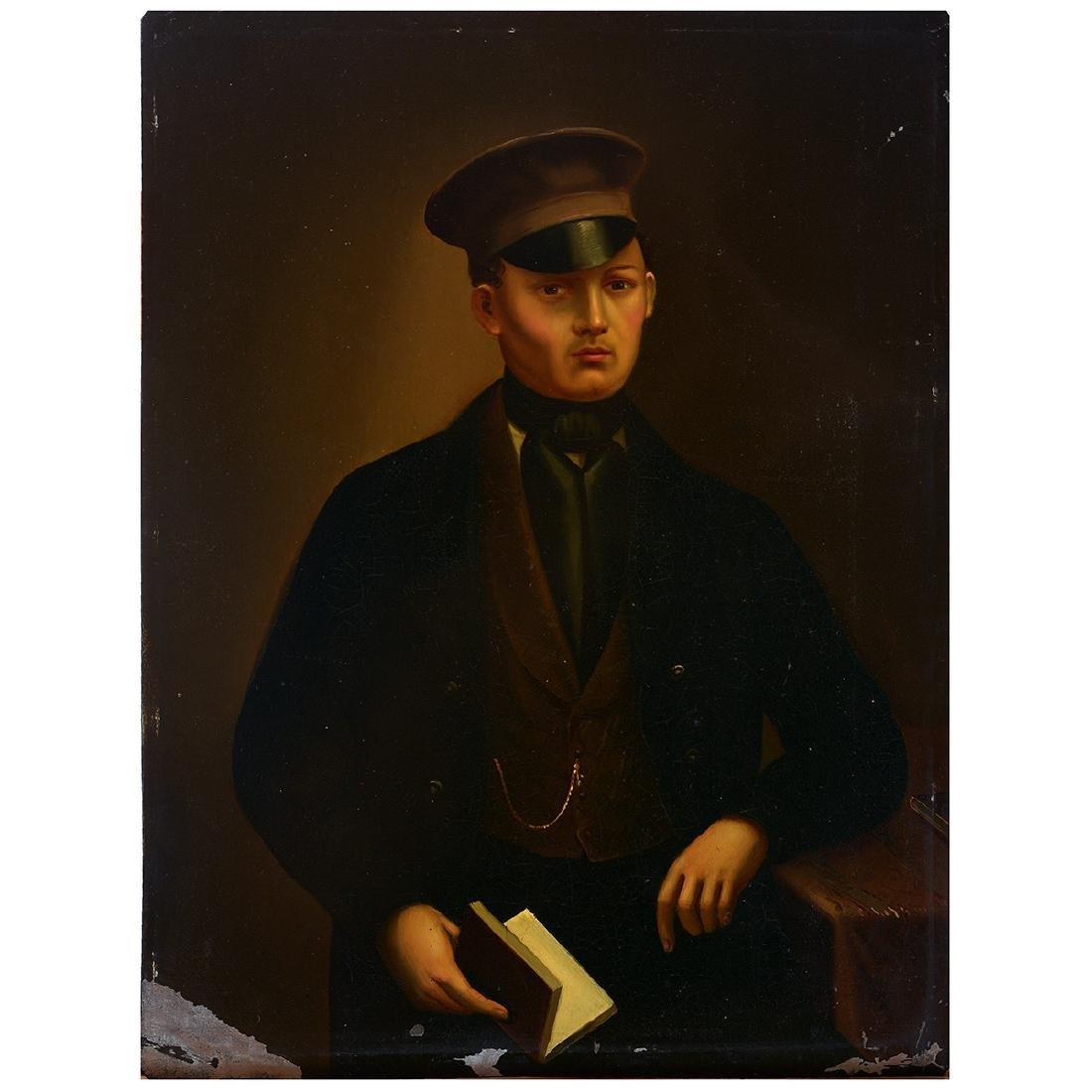 "German School ""Portrait of Young Man, possibly Wilhelm"