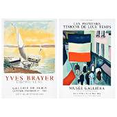 2 litho posters: After Yves Brayer & After Raoul Dufy