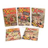 XMen 3 4 6 2 copies and 7 Silver Age Comic