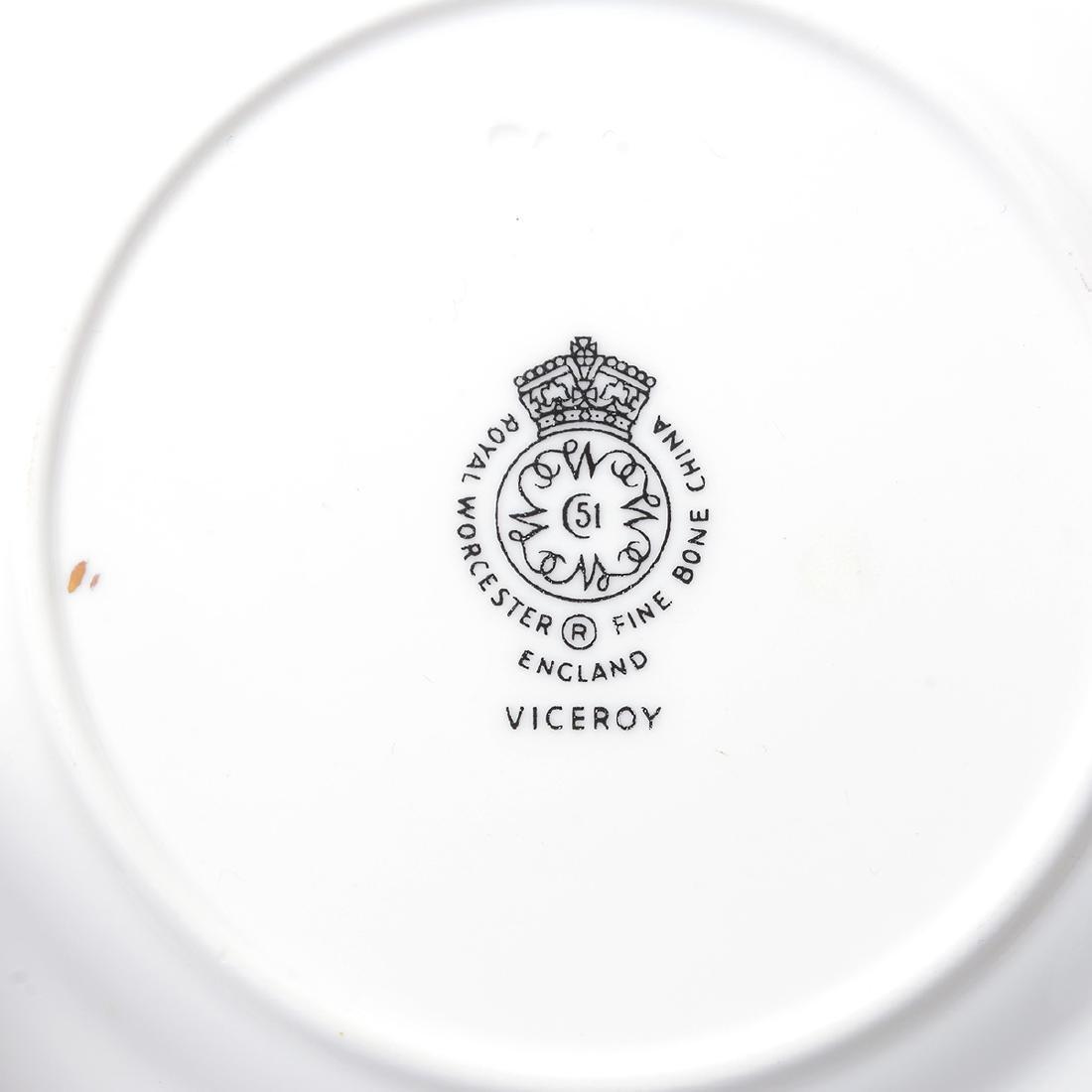 Royal Worcester China Set, A.H.Williamson [27] - 8