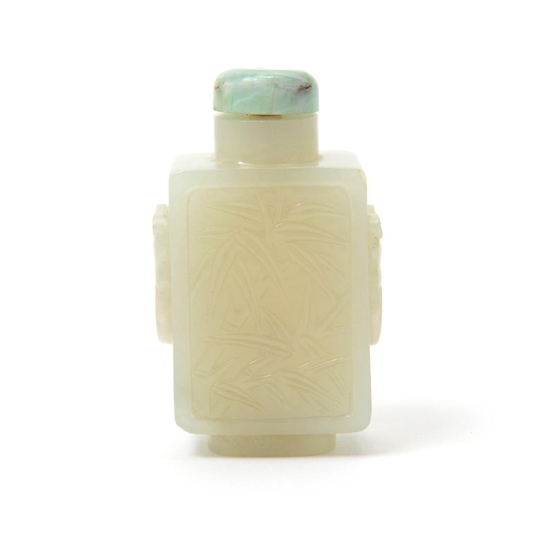 White Jade Snuff Bottle, 18th/19th Century - 2