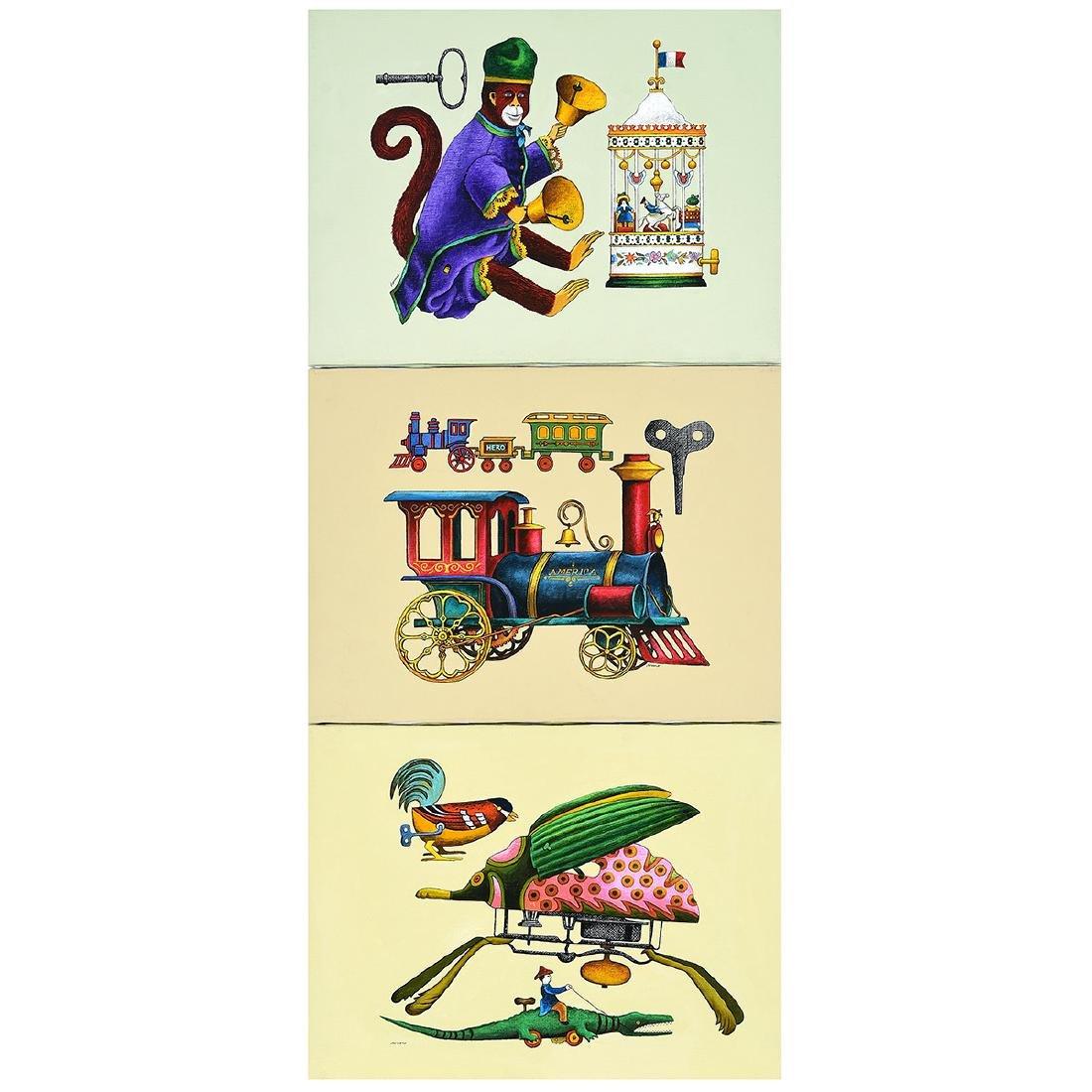 """Lowell Herrero 3 """"illustrations for shell Chemical"""
