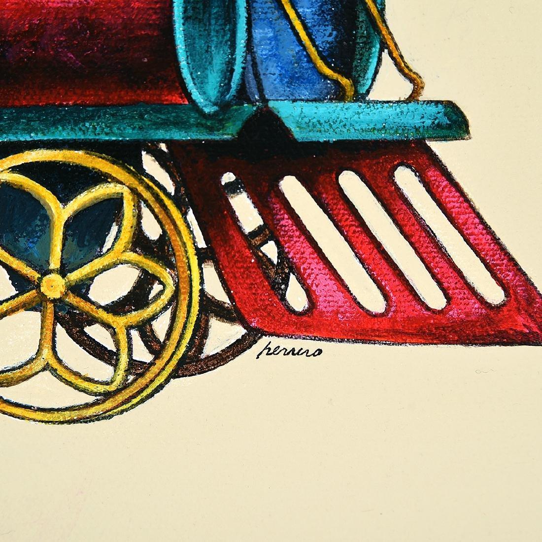 """Lowell Herrero 3 """"illustrations for shell Chemical - 2"""