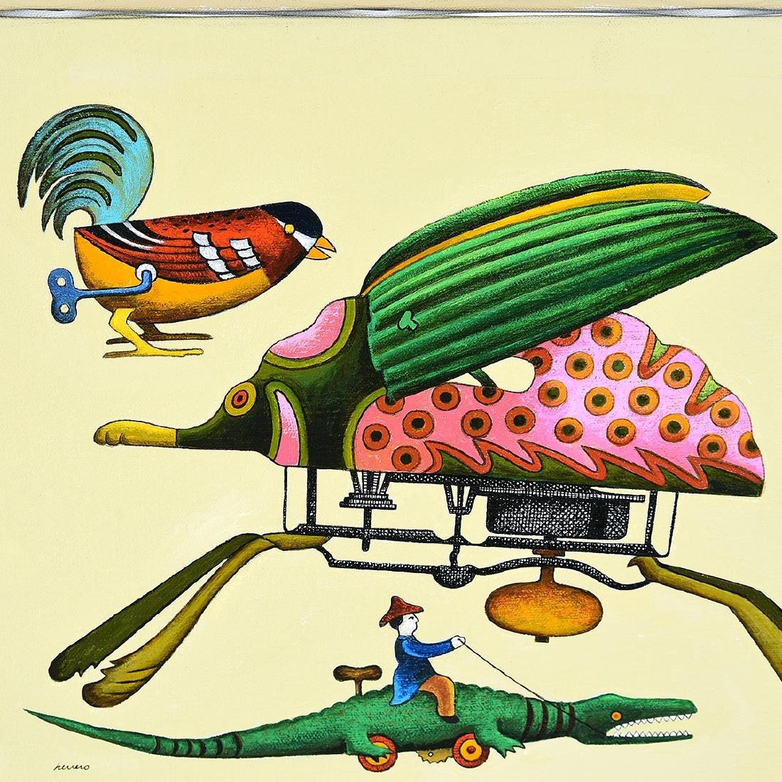 """Lowell Herrero 3 """"illustrations for shell Chemical - 5"""