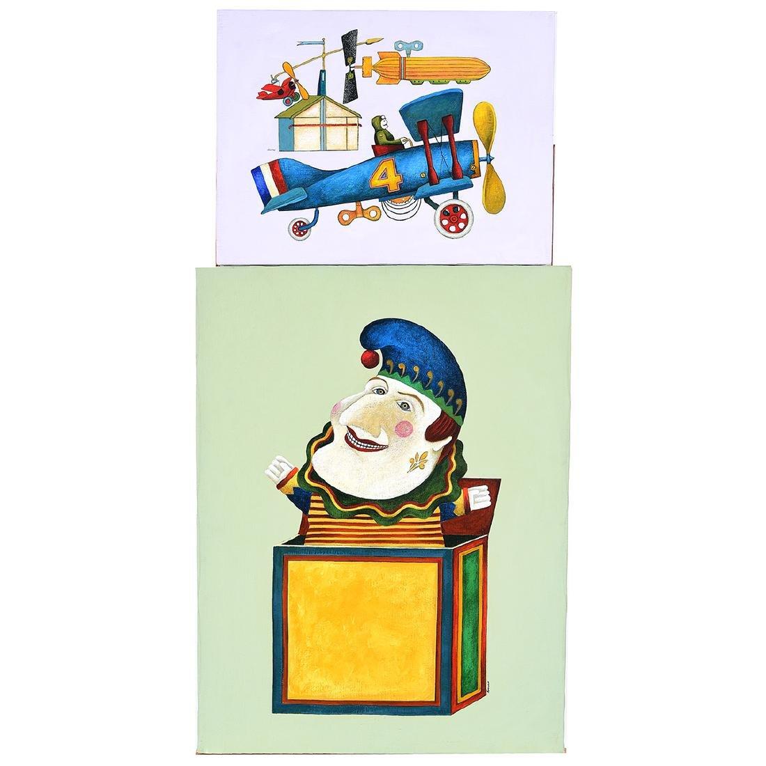 """Lowell Herrero 2 """"Illustrations for Shell Chemical"""