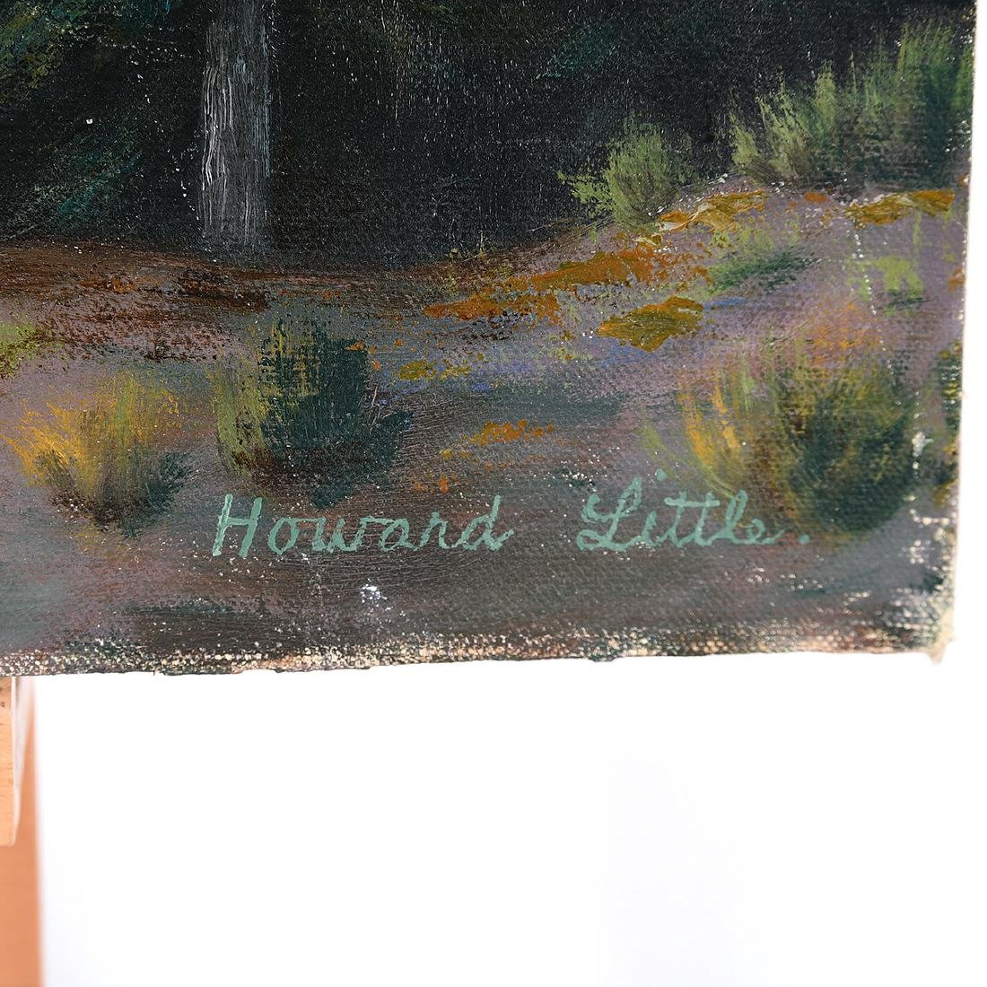 "Howard Little 2 ""Water scenes"" oil on masonite - 2"