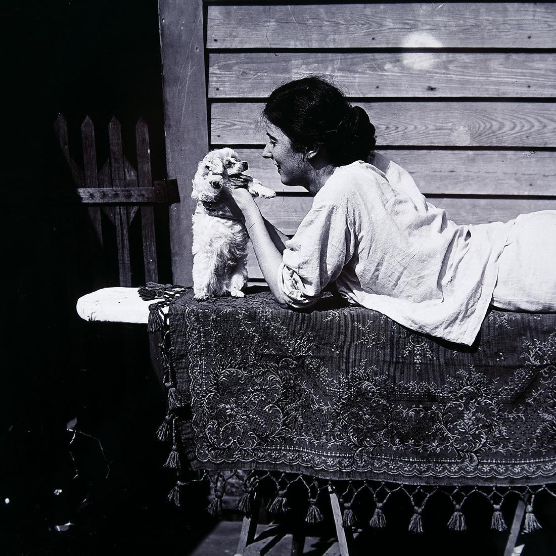 """E.J. Bellocq """"Storyville portrait ca. 1912"""" gold toned - 2"""
