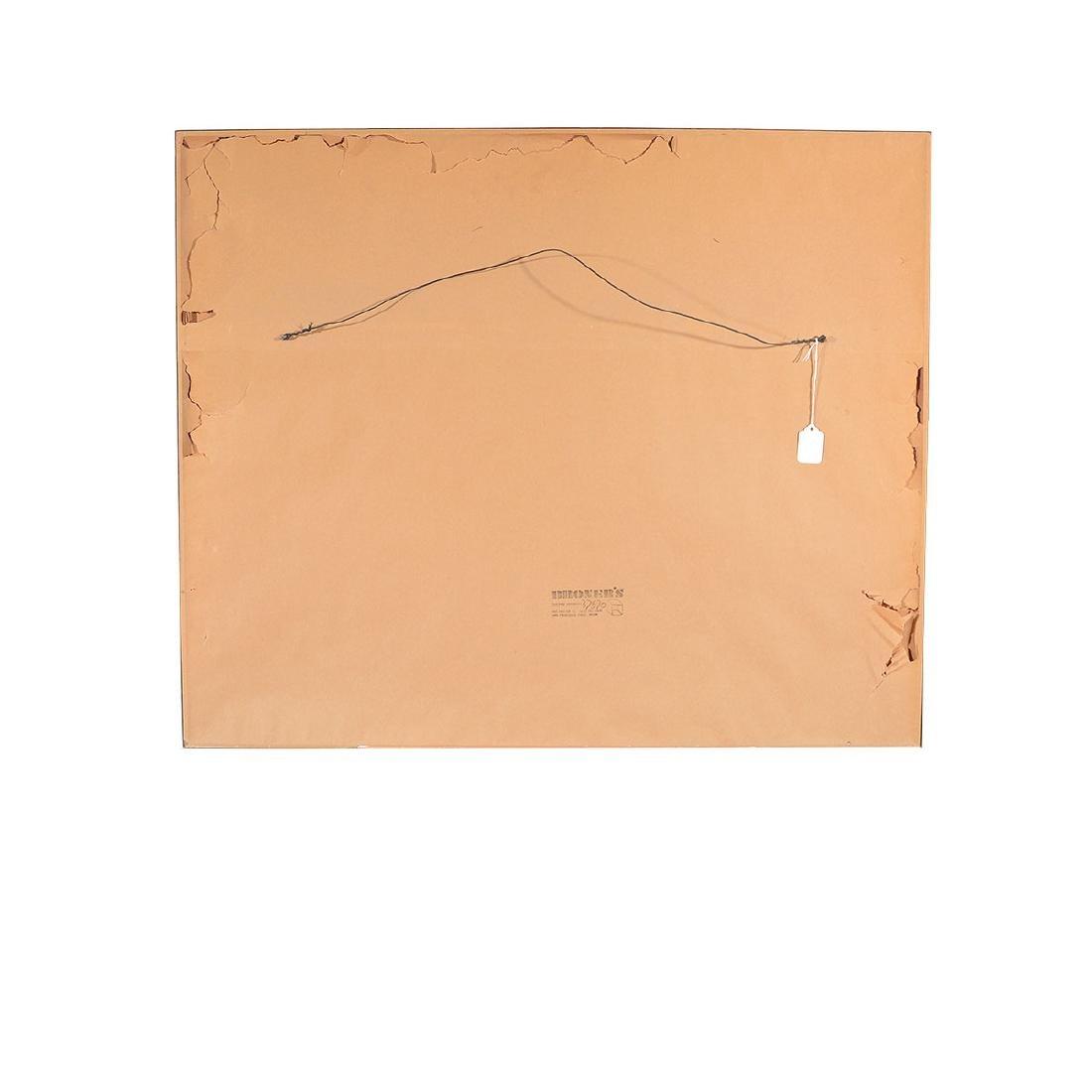 """George Post """"Shipyard"""" watercolor - 5"""