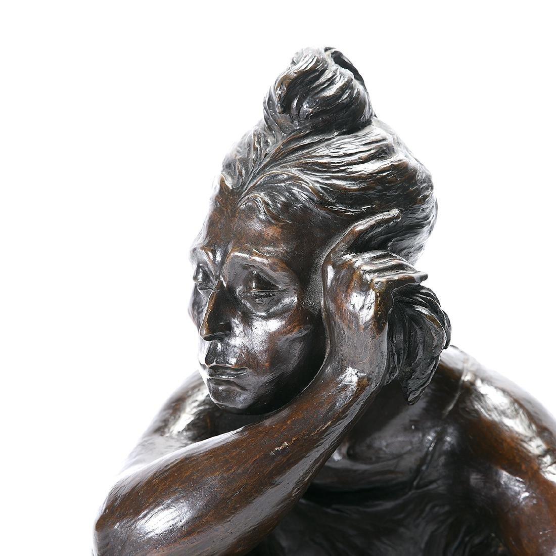 """Jorge Duron """"Soledad"""" bronze - 2"""