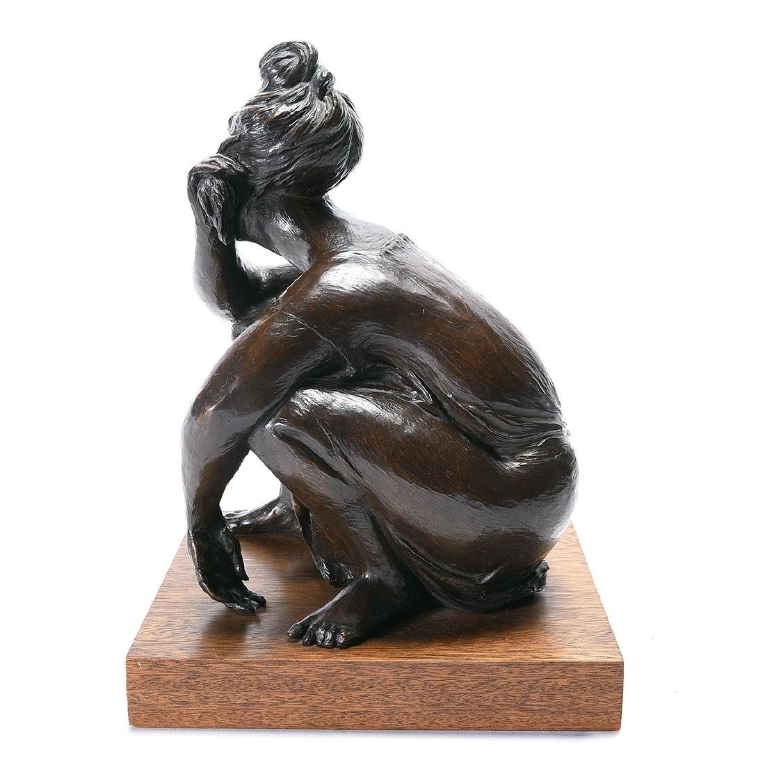 """Jorge Duron """"Soledad"""" bronze - 6"""