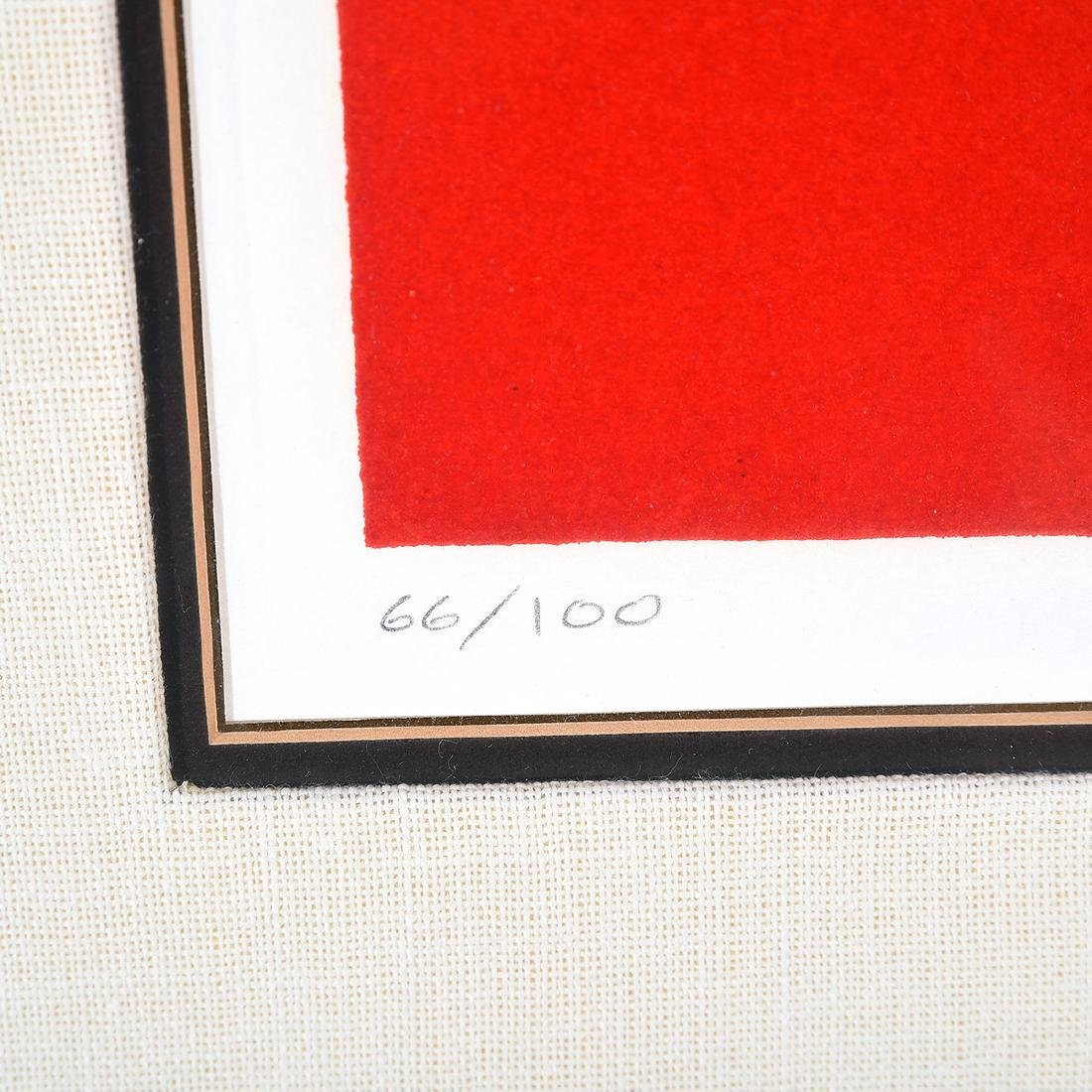 """Benny Bufano """"The Hand of Peace"""" lithograph - 3"""