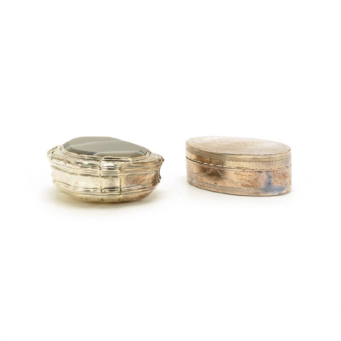 Seven Silver Snuff Boxes and Cigarette Cases - 6
