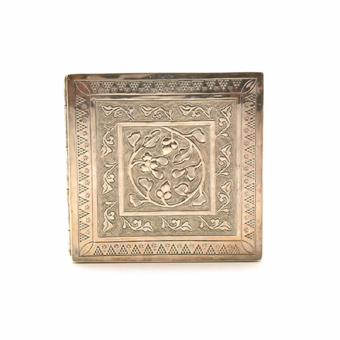 Seven Silver Snuff Boxes and Cigarette Cases - 7