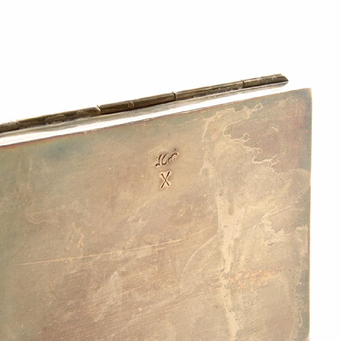 Seven Silver Snuff Boxes and Cigarette Cases - 8