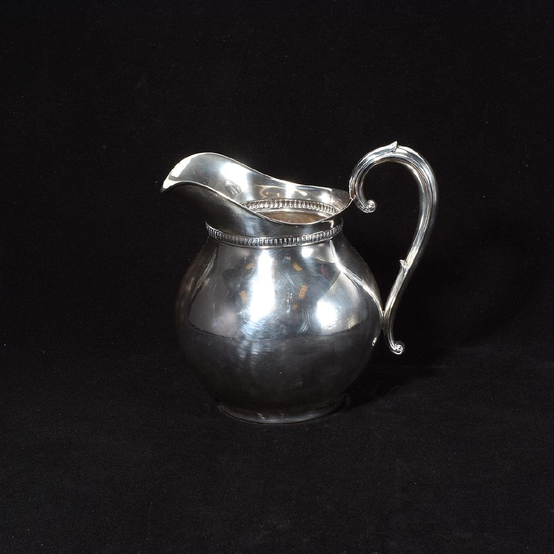 Wallace Sterling Water Pitcher - 2