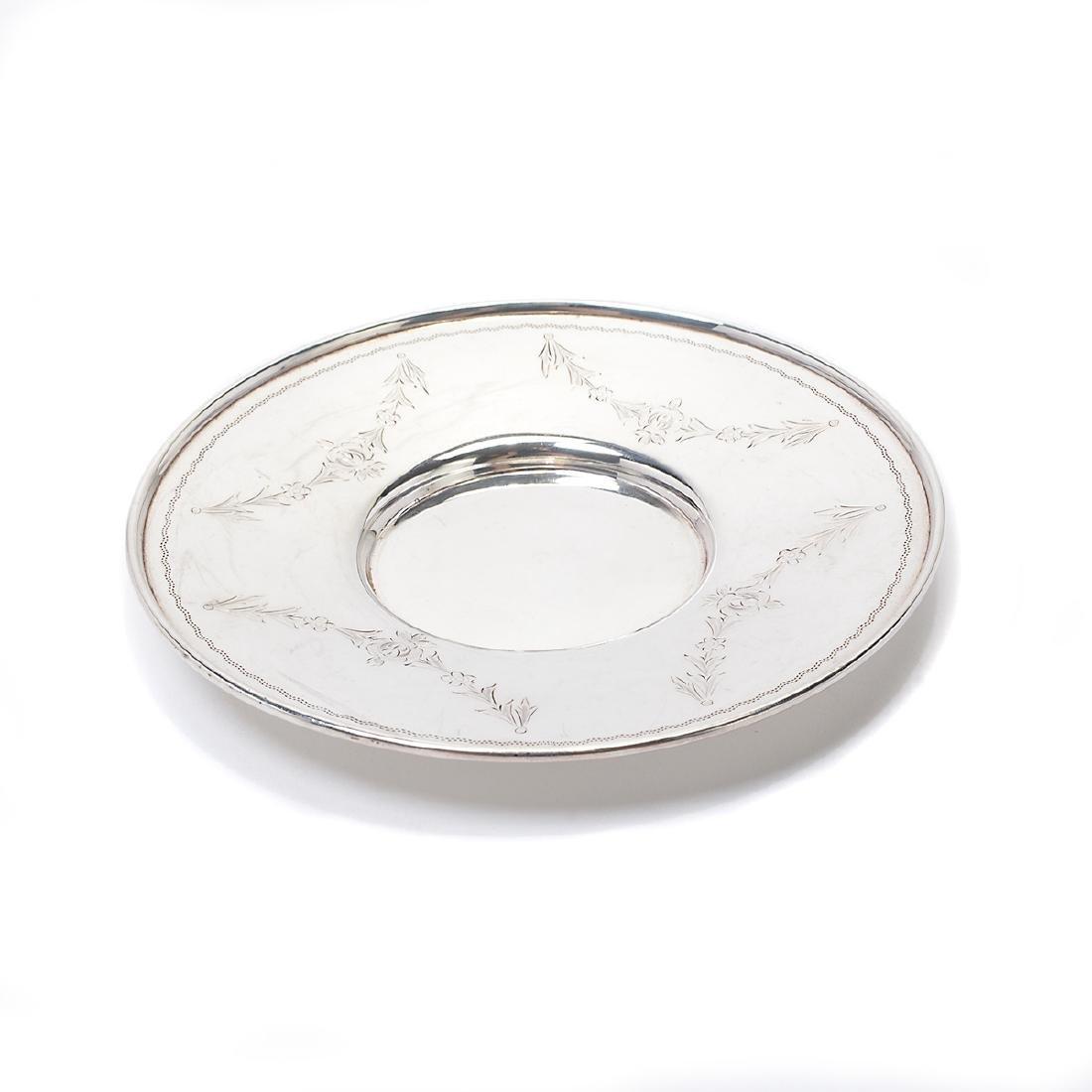 Suite of Nine Gorham Sterling Silver Glass Wine Glasses; - 5