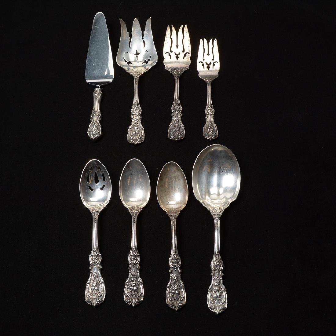 Reed & Barton Sterling Silver Flatware Set, Including